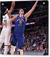 Brooklyn Nets V Denver Nuggets Acrylic Print