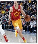 Brooklyn Nets V Indiana Pacers Acrylic Print
