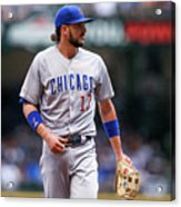 Chicago Cubs V Milwaukee Brewers 6 Acrylic Print