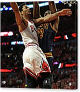 Cleveland Cavaliers V Chicago Bulls - Acrylic Print