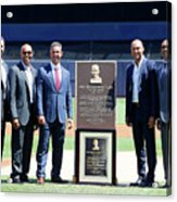 Cleveland Indians V New York Yankees Acrylic Print