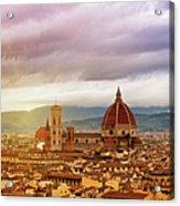 Florence, Santa Maria Del Fiore Acrylic Print