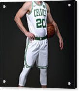 Gordon Hayward Boston Celtics Portraits Acrylic Print