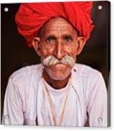 India, Rajasthan, Rabari Village Acrylic Print