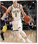 Indiana Pacers V Milwaukee Bucks Acrylic Print