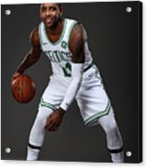 Kyrie Irving Boston Celtics Portraits Acrylic Print