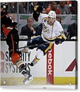 Nashville Predators V Anaheim Ducks - Acrylic Print