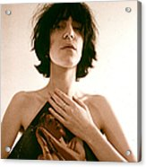 Patti Smith Portrait Session Acrylic Print