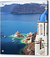 Santorini, Greece Acrylic Print