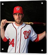 Washington Nationals Photo Day 6 Acrylic Print