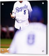 World Series - New York Mets V Kansas 6 Acrylic Print