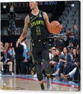 Atlanta Hawks V Sacramento Kings Acrylic Print
