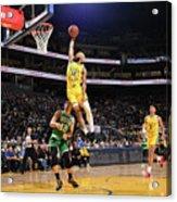 Boston Celtics V Golden State Warriors Acrylic Print