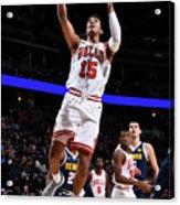 Chicago Bulls V Denver Nuggets Acrylic Print