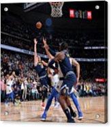 Dallas Mavericks V Denver Nuggets Acrylic Print