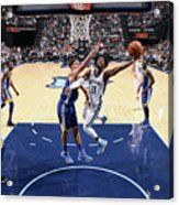 Golden State Warriors V Memphis Acrylic Print