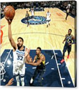 Indiana Pacers V Minnesota Timberwolves Acrylic Print