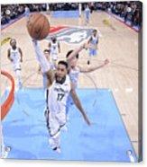 Memphis Grizzlies V Sacramento Kings Acrylic Print