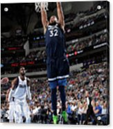 Minnesota Timberwolves V Dallas Acrylic Print