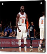 Minnesota Timberwolves V New York Knicks Acrylic Print