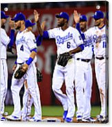 Minnesota Twins V Kansas City Royals Acrylic Print