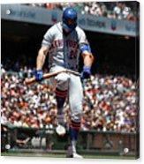 New York Mets V San Francisco Giants Acrylic Print