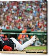 New York Mets V Washington Nationals Acrylic Print