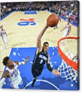 Philadelphia 76ers V Orlando Magic Acrylic Print