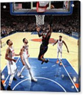 Phoenix Suns V New York Knicks Acrylic Print