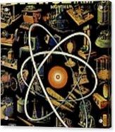 Popular Science Magazine Covers Acrylic Print