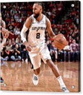San Antonio Spurs V Houston Rockets Acrylic Print