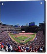 Seattle Mariners V Texas Rangers Acrylic Print