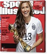 Us Womens National Team 2015 Fifa Womens World Cup Champions Sports Illustrated Cover Acrylic Print