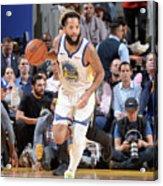 Utah Jazz V Golden State Warriors Acrylic Print