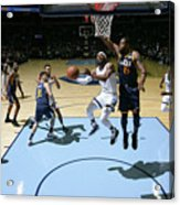 Utah Jazz V Memphis Grizzlies Acrylic Print