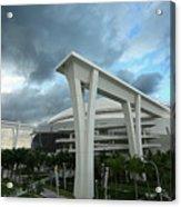 Washington Nationals V Miami Marlins Acrylic Print