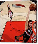 Washington Wizards V Portland Trail Acrylic Print