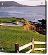 7th Hole At Pebble Beach Golf Links Acrylic Print