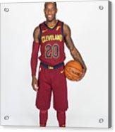 2017-18 Cleveland Cavaliers Media Day Acrylic Print