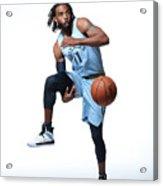 2018-19 Memphis Grizzlies Media Day Acrylic Print