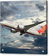 Air India Boeing 787-8 Dreamliner Acrylic Print