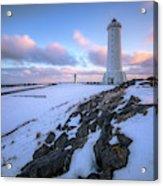 Akranes - Iceland Acrylic Print