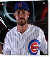 Chicago Cubs Photo Day 8 Acrylic Print