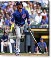 Chicago Cubs V Milwaukee Brewers 8 Acrylic Print