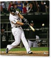 Cleveland Indians V Chicago White Sox Acrylic Print