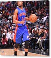 Detroit Pistons V La Clippers Acrylic Print