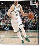 Detroit Pistons V Milwaukee Bucks - Acrylic Print