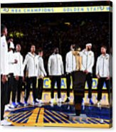 Houston Rockets V Golden State Warriors Acrylic Print