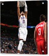 Houston Rockets V Oklahoma City Thunder Acrylic Print