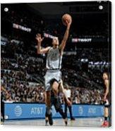 La Clippers V San Antonio Spurs Acrylic Print